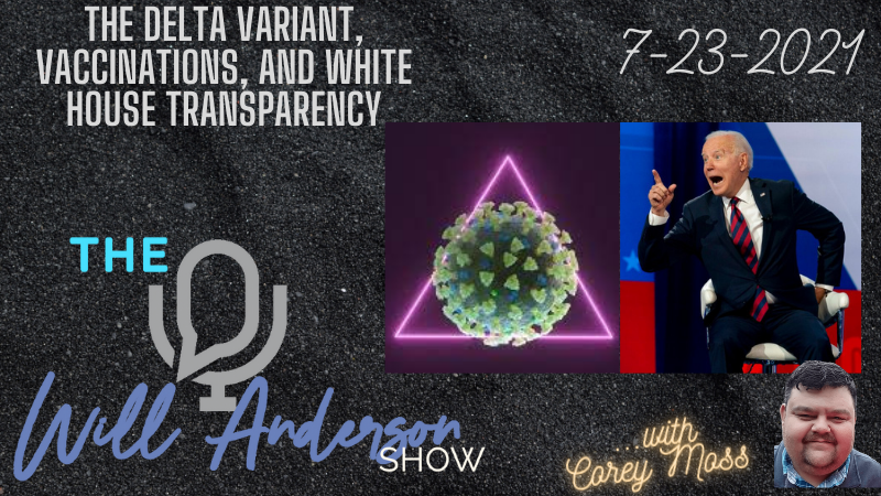 The Delta Variant, Vaccinations, And White House Transparency