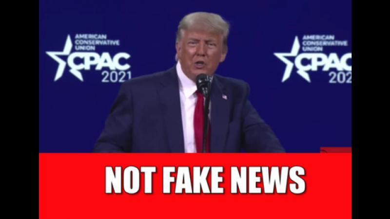 BIDEN IS A DISGRACE: President Trump EXPLOSIVE Speech at CPAC 2021