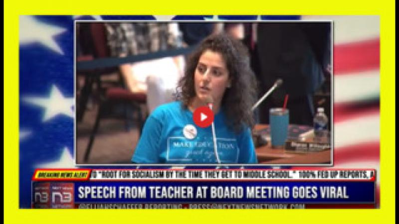 TEACHER AT SCHOOL BOARD MEETING GOES VIRAL FOR ALL THE RIGHT REASONS...