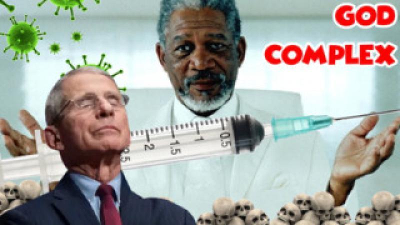 Morgan Freeman Shills Experimental Vaccine to Cult Members