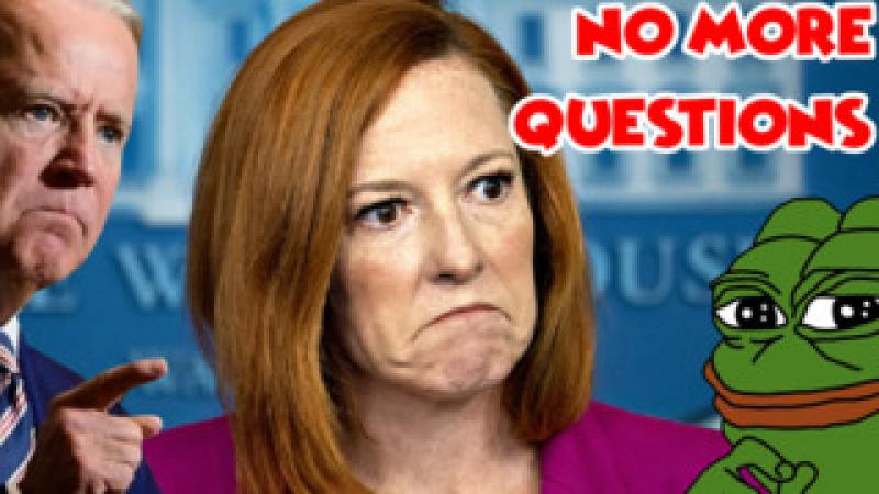 Madlad Calls Biden a Sexual Predator During White House Press Briefing