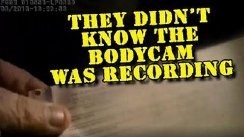 Six Cops Thought All Bodycams Were OFF!  Here#x27;s What Was Recorded