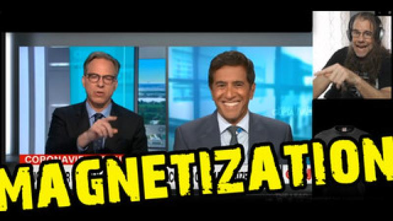 Watch CNN Laugh About Magnetization of Those Who Took the Jab...But Wait...