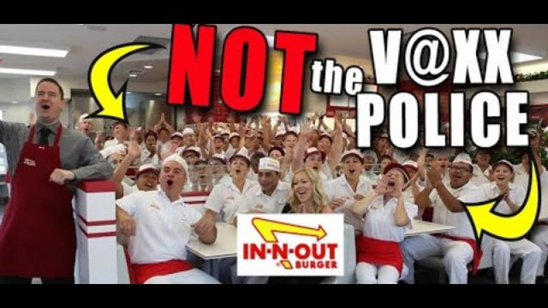 quot;We are NOT the V@xx Police!quot; In-N-Out Burger Stands Against Passports