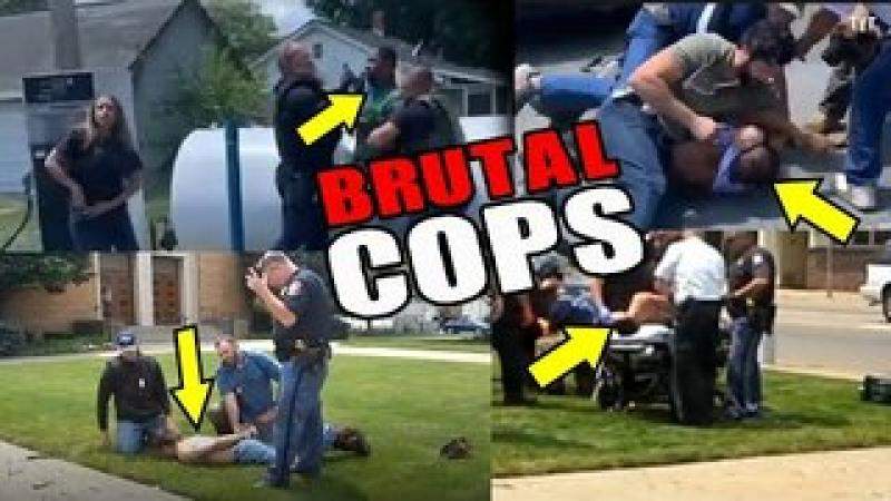 Vicious Undercover Cops Attacking White amp; Black - Unchecked POWER-TRIPPERS!
