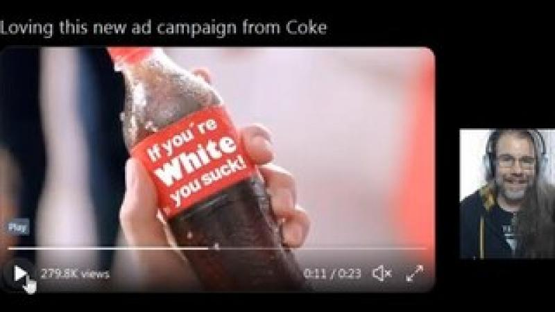What The Heck Did COKE Say About White People?!?  Are You Offended?