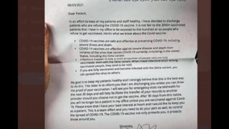 Have You Gotten a Black List Threat Letter Like This?