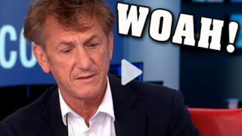 MIND-BLOWING!!  MILLIONS Believe EXACTLY What Sean Penn Just Said!