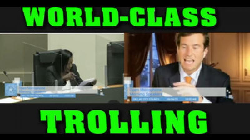 Dallas City Council Gets Hit With WORLD-CLASS Troll!!