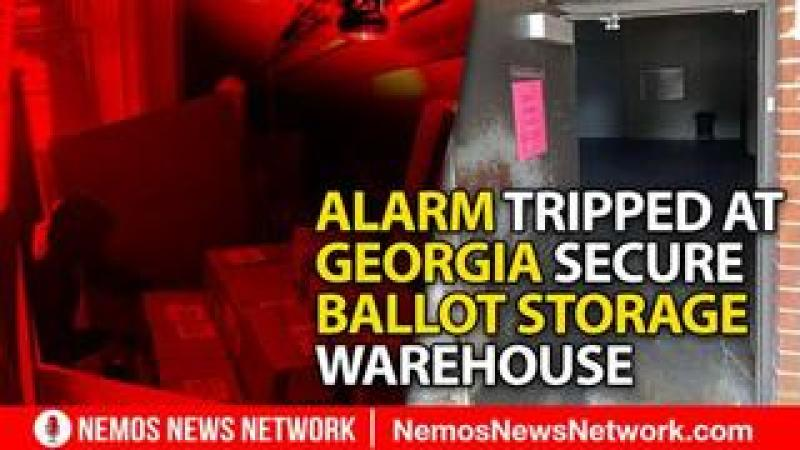 The Big Lie! Update: Alarm Tripped at Secure Ballot Storage in Georgia - Found Open and Unattended