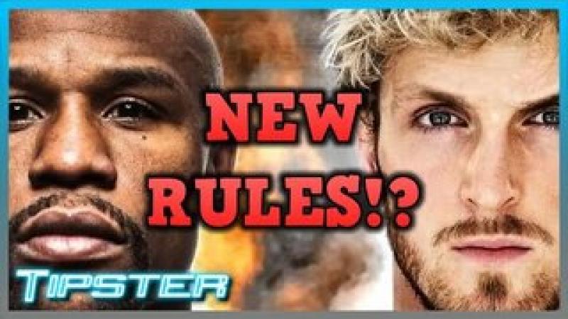 New Rules in Paul VS Mayweather Fight Are Kinda...Odd?