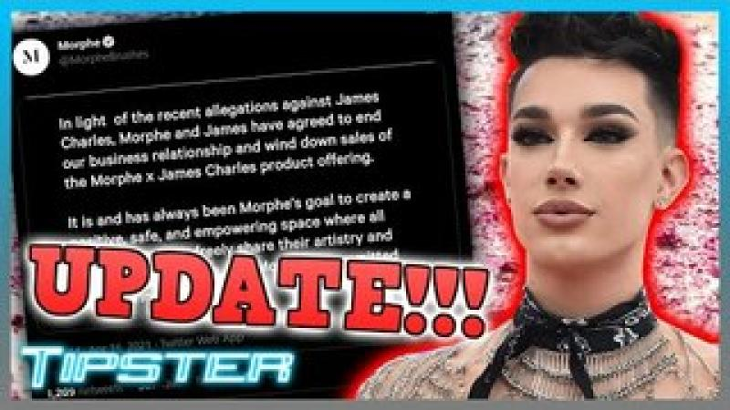 Morphe amp; James Charles Part Ways Amid the Controversy