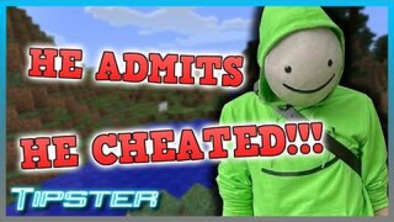Dream ADMITS to Cheating in Minecraft Speedruns!!!