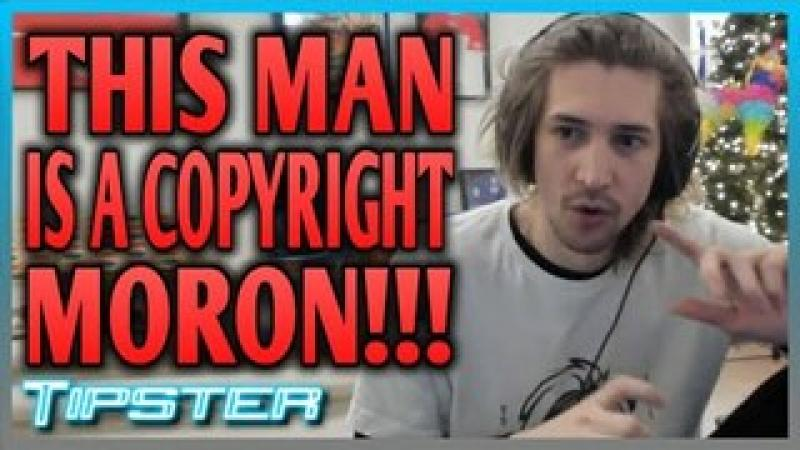 xQc Thinks He is ABOVE Copyright Law | #TipsterLIVE