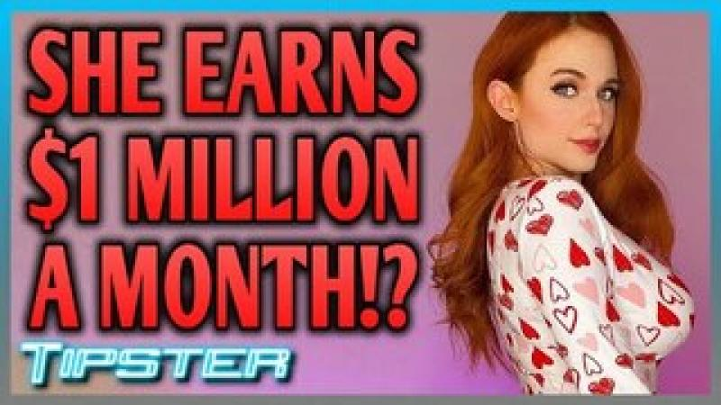 Amouranth Claims She Makes $1 Million a MONTH!!!