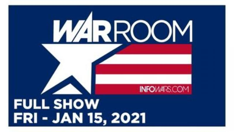 WAR ROOM (FULL SHOW) Friday 1/15/21 • PROJECT VERITAS, Frank Cavanagh, Michale Graves, News, Reports