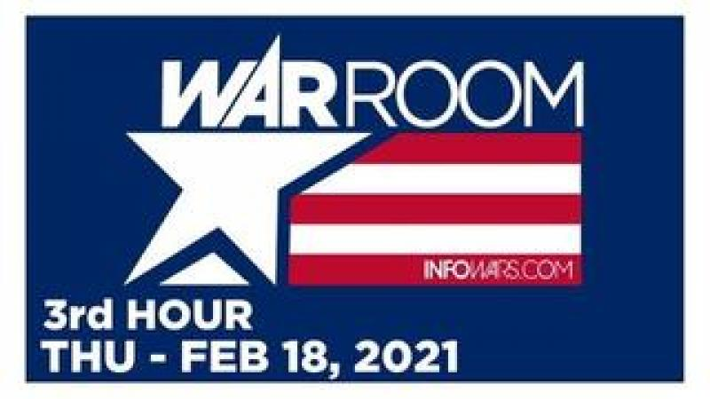 WAR ROOM (3rd HOUR) Thursday 21821  News, Calls, Reports amp; Analysis  Infowars