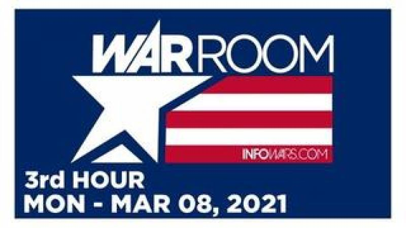 WAR ROOM (3rd HOUR) Monday 3821  Pro-Mask Rally, News, Reports amp; Analysis  Infowars