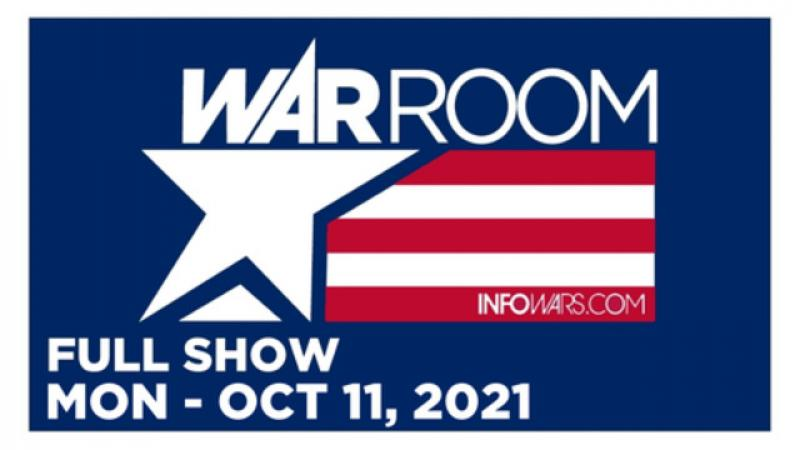 WAR ROOM (FULL) Monday 101121  COVID VACCINES - THOUSANDS DEAD - AND THE MEDIA IS COVERING IT UP