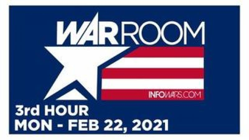 WAR ROOM (3rd HOUR) Monday 22221  News, Calls, Reports amp; Analysis  Infowars