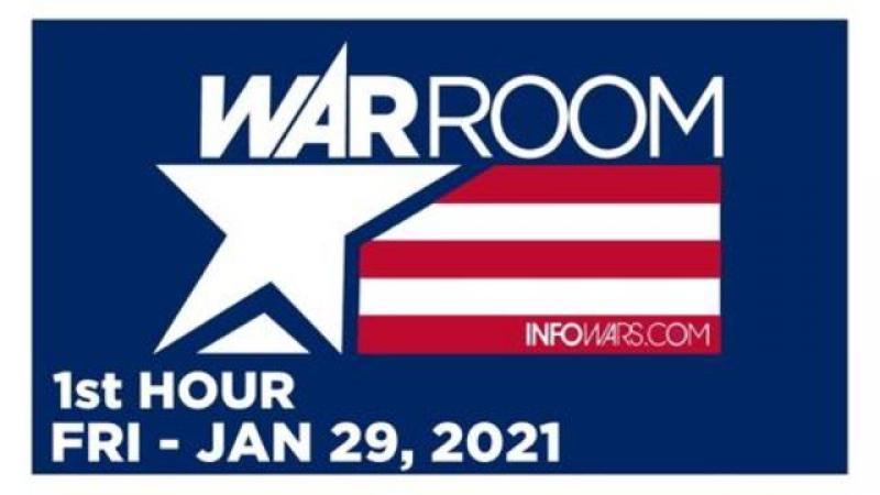 WAR ROOM (1st HOUR) Friday 1/29/21 • VETERANS CALL-IN SPECIAL, News, Reports & Analysis • Infowars
