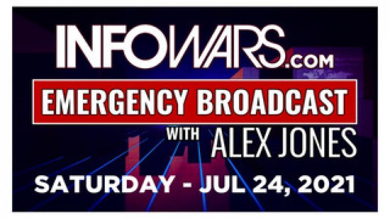 ALEX JONES EMERGENCY Saturday 72421  Republican Leaders Announce New Lock Down Plan