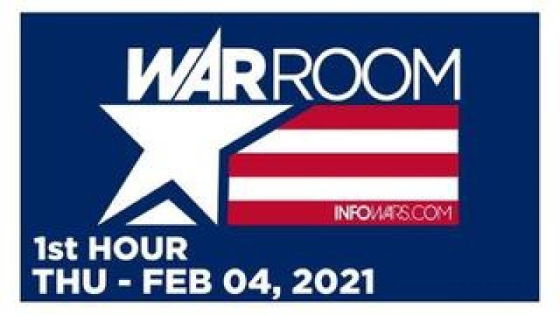WAR ROOM (1st HOUR) Thursday 2/4/21 • Allan Santos, News, Reports & Analysis • Infowars