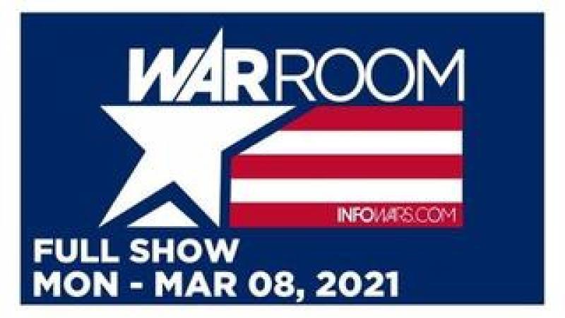 WAR ROOM (FULL) Monday 3821  JOE HOFT GATEWAY PUNDIT, Tom Pappert, Jack Hadfield, Pro-Mask Rally