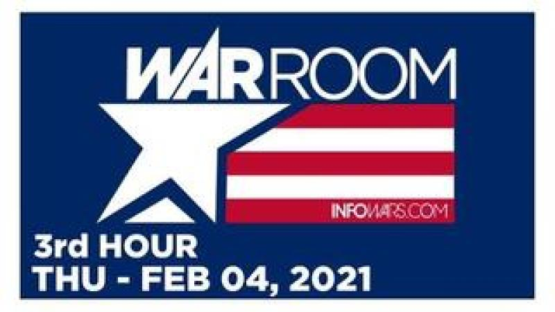 WAR ROOM (3rd HOUR) Thursday 2/4/21 • Jesse Lee Peterson, News, Reports & Analysis • Infowars