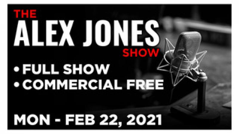 ALEX JONES (FULL SHOW) Monday 22221  ROGER STONE, Gerald Celente, News, Calls, Reports amp; Analysis