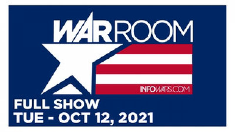 WAR ROOM (FULL) Tuesday 101221  GLOBAL TYRANNY TAKEOVER: NOW THEYRE COMING FOR OUR CHILDREN!