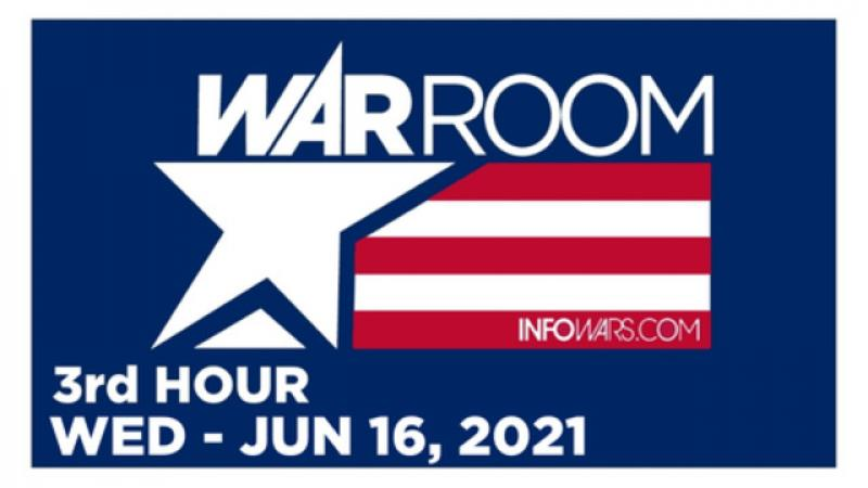 WAR ROOM (3rd HOUR) Wednesday 61621  News, Calls, Reports amp; Analysis  Infowars