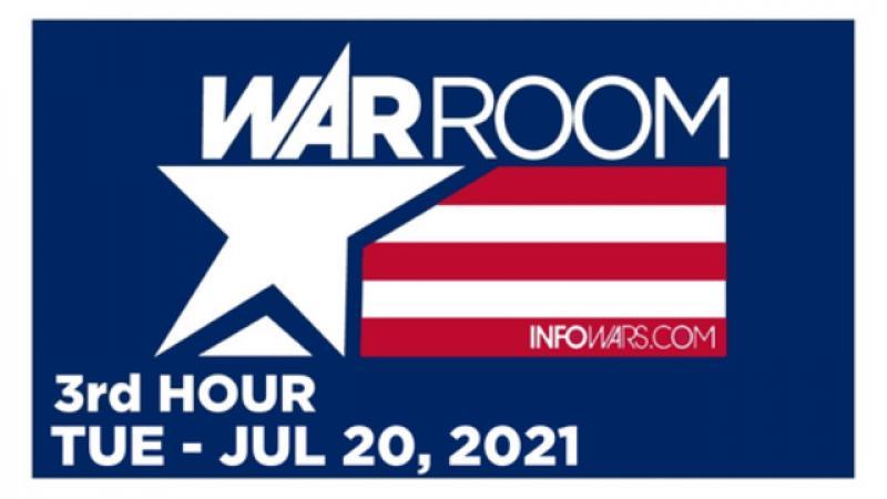 WAR ROOM (3rd HOUR) Tuesday 72021  Hasbro quot;CRTquot; Whistleblower David Johnson, News, Reports