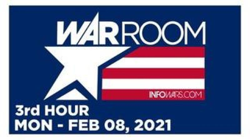 WAR ROOM (3rd HOUR) Monday 2/8/21 • Bryson Gray: 1776 & God Wins, News, Reports & Analysis • Infowar