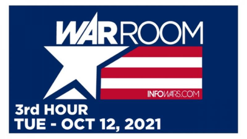 WAR ROOM (3rd HOUR) Tuesday 101221  News, Calls, Reports amp; Analysis  Infowars