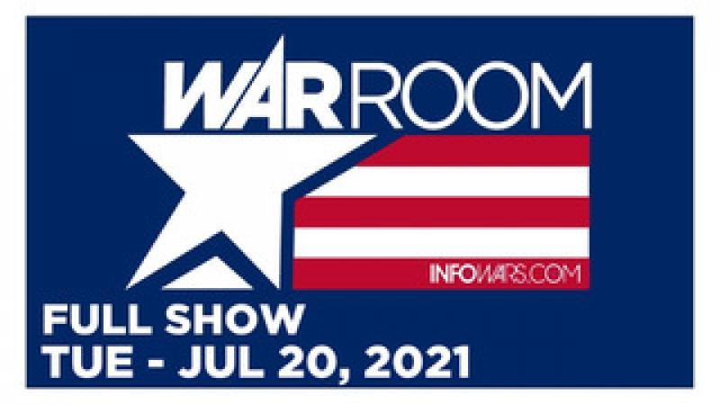 WAR ROOM (FULL) Tuesday 72021  Hasbro quot;CRTquot; Whistleblower David Johnson, News, Reports amp; Analysis
