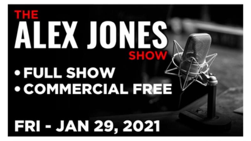 ALEX JONES (FULL SHOW) Friday 1/29/21 • GAMESTOP UPDATE, HENRY DAVIS COMES CLEAN, Nick Begich, News