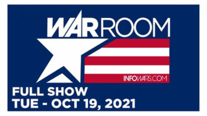 WAR ROOM (FULL) Tuesday 101921  DEMOCRATS REMOVE THOMAS JEFFERSON FROM CITY HALL