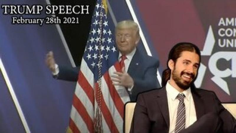 Trump Speaks At CPAC 2021 In First Big Speech Since Leaving Office: My LIVE Reaction!