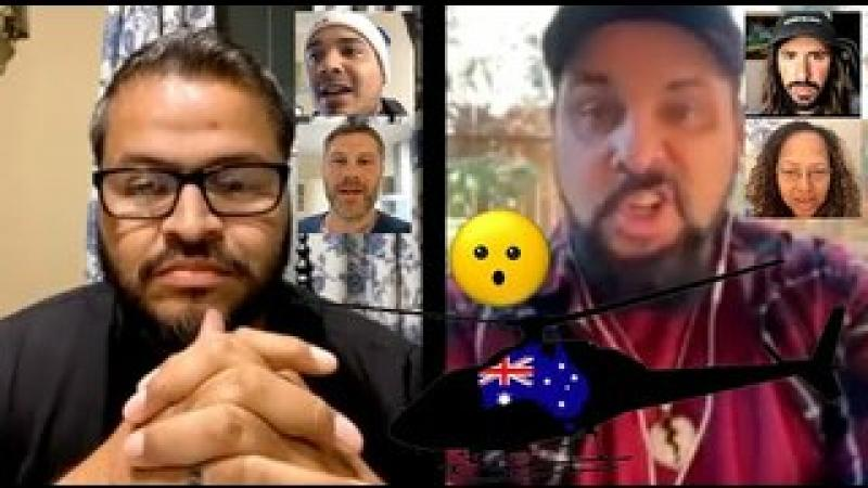 Australia Lockdown With Helicopters! An0maly Interviews Australian Citizens On Insta Live!