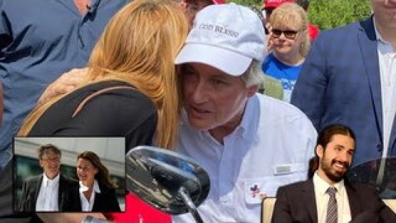 Bill amp; Melinda, Lin Wood Spotted Wearing God Bless! Hat amp; Ron DeSantis Rescinds Emergency Order!