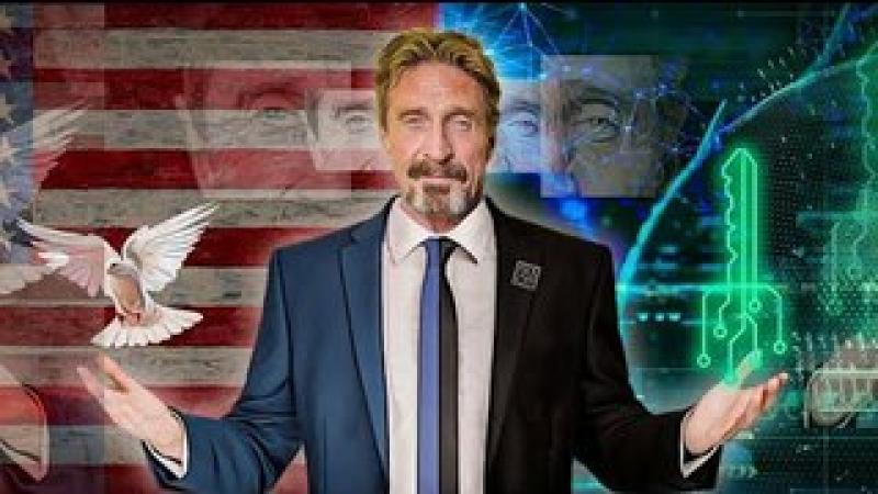 REPORT: John McAfee Found Dead In Prison! RIP To An Interesting American Legend.