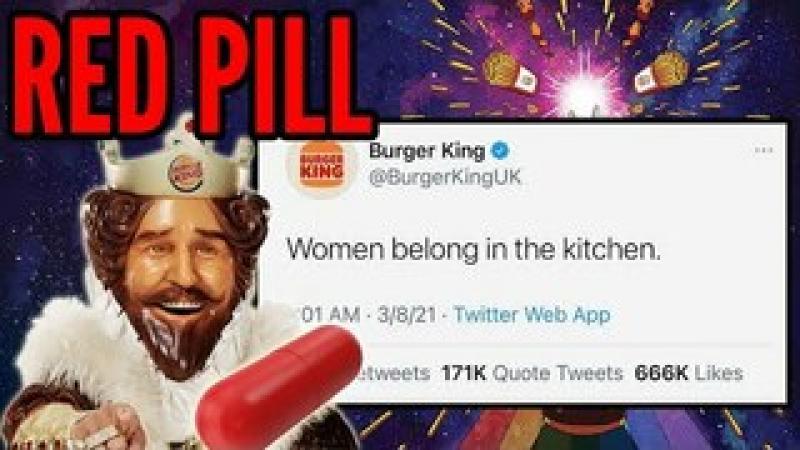 Burger King Drops a MASSIVE Red Pill on International Women#x27;s Day