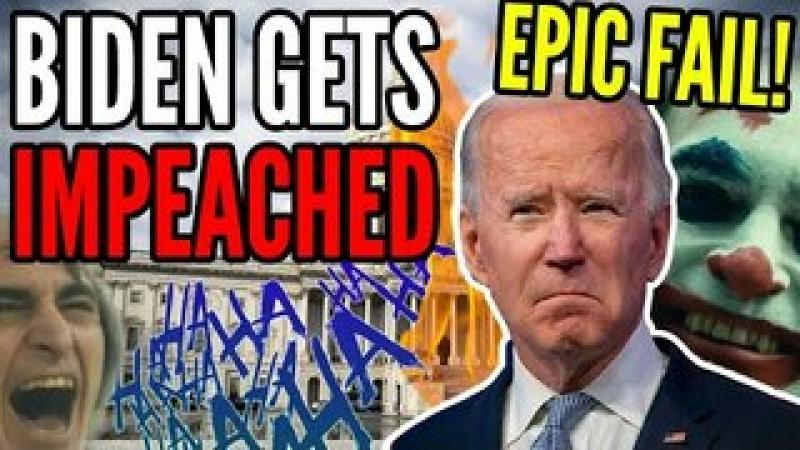 Joe Biden Gets IMPEACHED, Articles of Impeachment Filed Against Biden on DAY ONE of His Presidency..