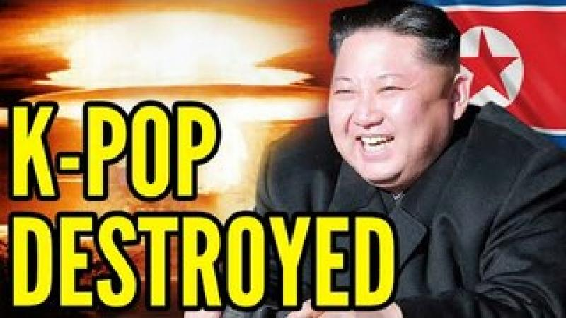 Kim Jong-un NUKES K-Pop From Orbit, Declares K-pop Cancer and a CRIMINAL OFFENSE