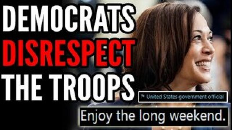 Kamala Harris Sparks BACKLASH After Disrespecting the Troops on Memorial Day