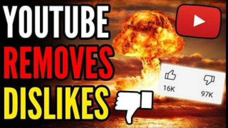 YouTube REMOVES the Dislike Button Because Biden Keeps Getting NUKED With Dislikes