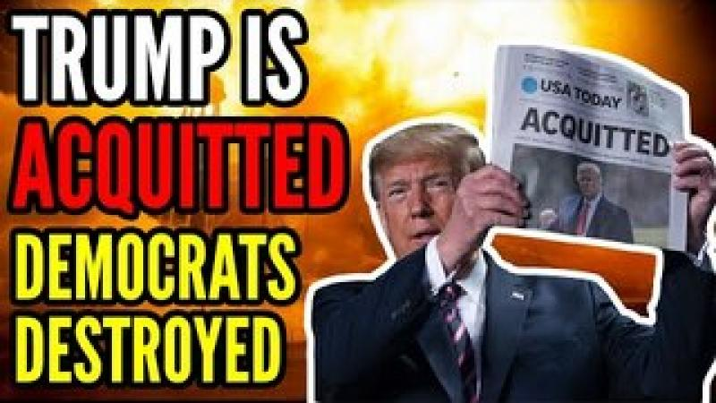 Trump is ACQUITTED by the Senate as Democrats FAIL 2nd Impeachment Trial, Let the Salt Flow!