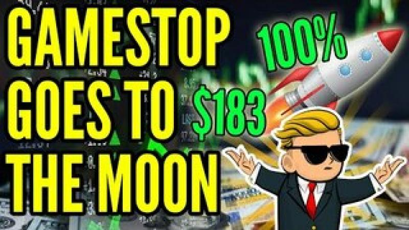 GameStop Stock SURGES 100% as WallStreetBets CRUSHES Rich Hedge Funds, GME GOES TO THE MOON!