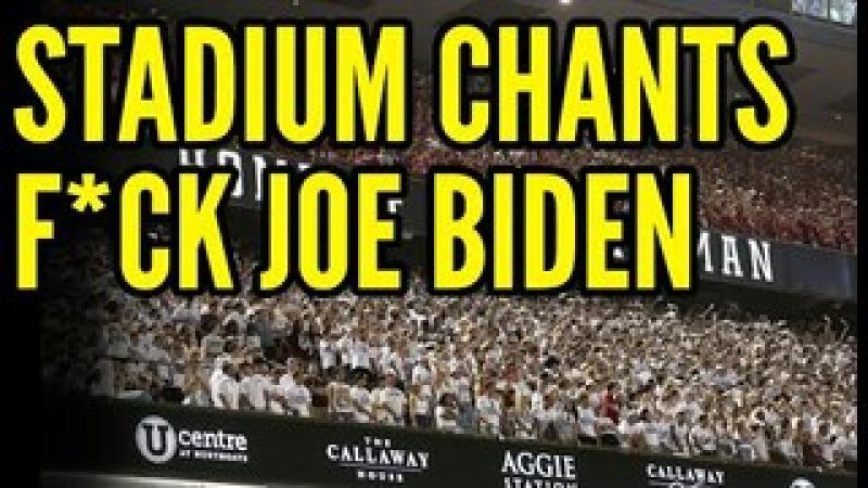 #x27;F*ck Joe Biden#x27; Chant ERUPTS Across College Football Games, Biden TROLLED at 911 Memorial